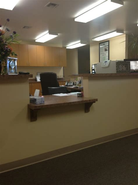front office receptionist desk yelp