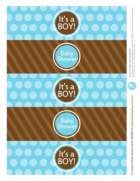 printable label templates for baby shower appleeyebaby i have something for you baby shower