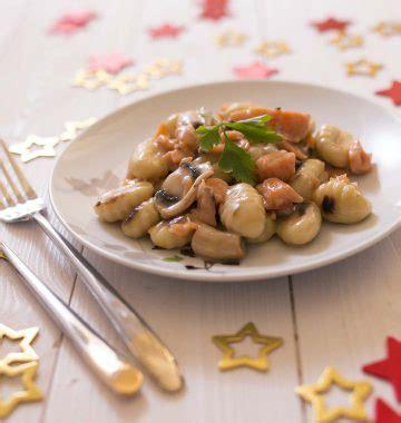 cuisiner gnocchi gnocchis 224 po 234 ler au saumon fum 233 les meilleures recettes