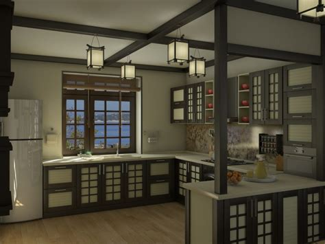 Japanese Kitchen Design How To Create Your Own Japanese Kitchen Design Theydesign Net Theydesign Net