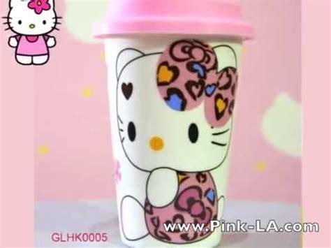 pink la shop gelas keramik hello