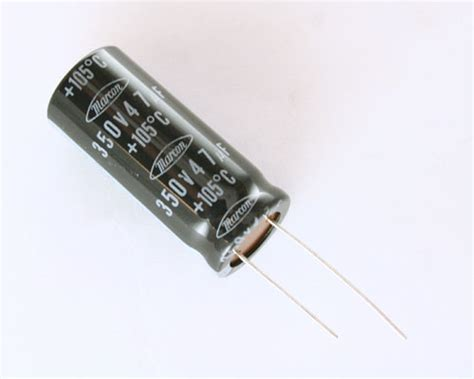 47uf 350v axial capacitor ceusm2v470m marcon capacitor 47uf 350v aluminum electrolytic radial high temp 2020021472
