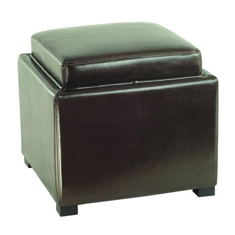 home decorators collection leather recliner and ottoman