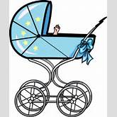 Image: Baby Carriage   Baby Clip Art   Christart.com