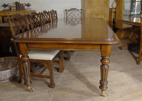 victorian dining table  mahogany ft  cm tables