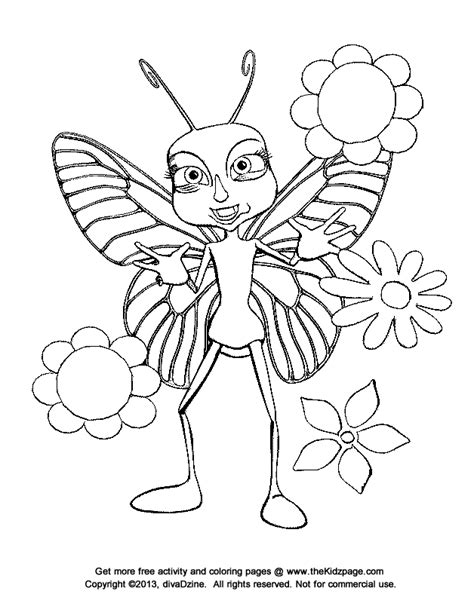 free coloring pages of butterflies and flowers coloring pages flowers butterflies coloring home