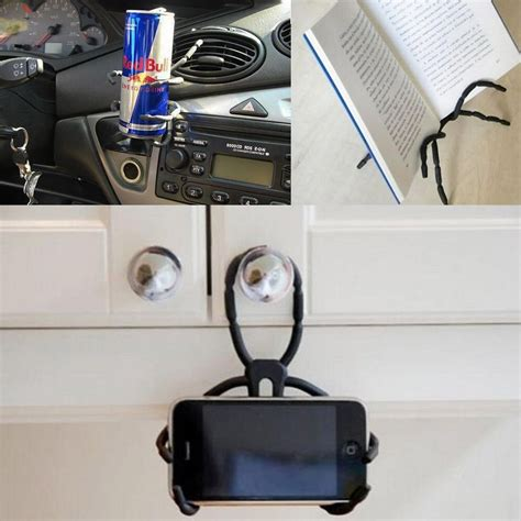 cell phone stand for spider shape universal diy car mount holder stand for cell