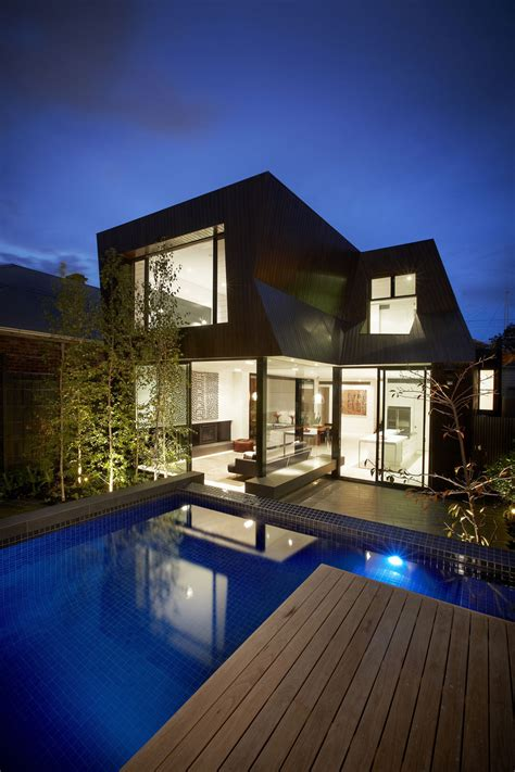 enclave house in melbourne australia by bkk architects