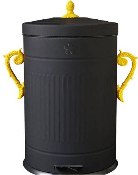 daily delight fancy trash can hgtv design blog 17 best images about trash bins on pinterest popcorn