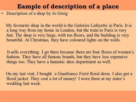 Sle Descriptive Essay About A Place by My Favorite Place Paragraph Writing Best Place 2017