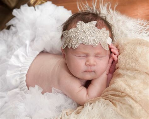Combs Buys Diamonds For Baby Daughters by Wholesale Baby Christening Headband For Hair