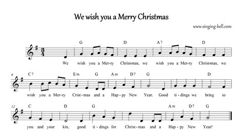 testo i wish we wish you a merry free carols