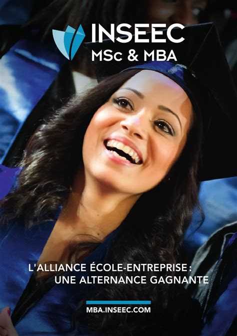 Mba Alternance by Plaquette Inseec Msc Mba By Inseec Issuu