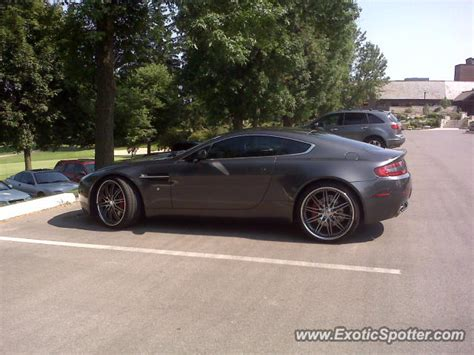 Aston Martin Canada by Aston Martin Vantage Spotted In Ancaster Canada On 06 09 2011