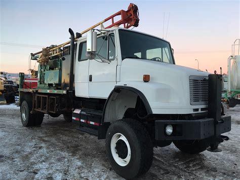 drilling trenching boring trucks machinery