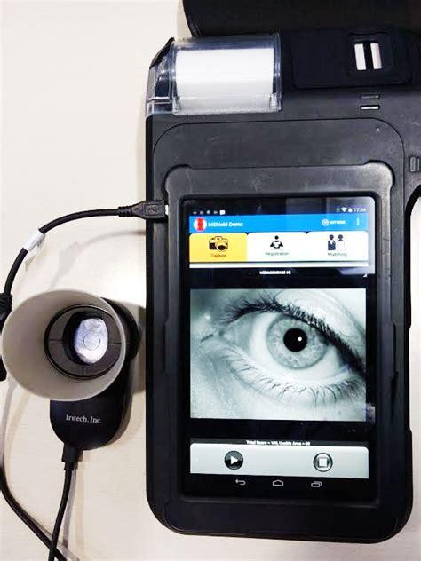 Mikro Bangking iris biometric micro atm biometric banking