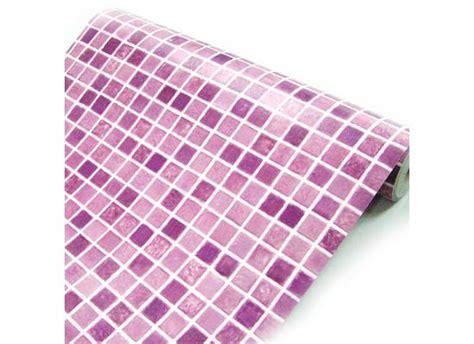 mosaik fliesen tapete tapete selbstklebend dekofolie mosaik fliesen lila bad