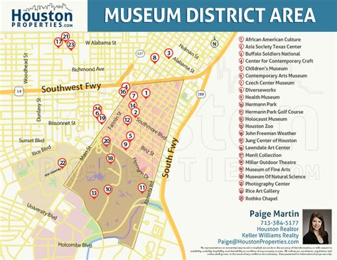 houston district k map museum district houston real estate neighborhood guide
