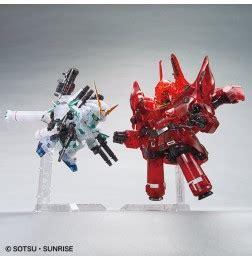 bb senshi full armor unicorn gundam & neo zeong (clear