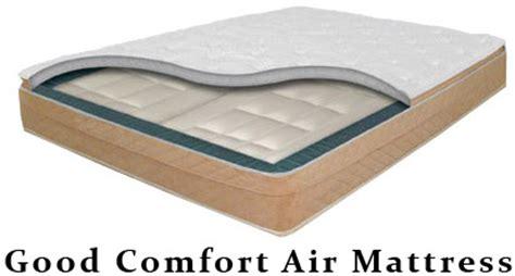 on air comfort mattress queen size good comfort air mattress with dual chambers