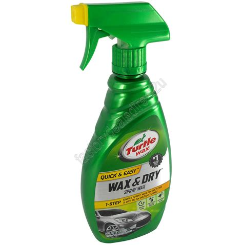 Turtle Wax Spray Wax turtle wax 1 step wax spray wax 769ml t9