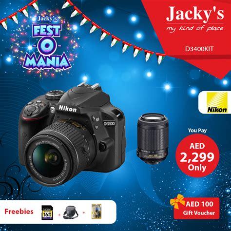 dslr offers nikon d3400 dslr offer at jacky a