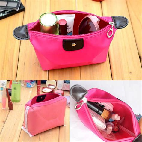 Tas Make Up Dompet tas organizer kosmetik unik warna warni dompet make up