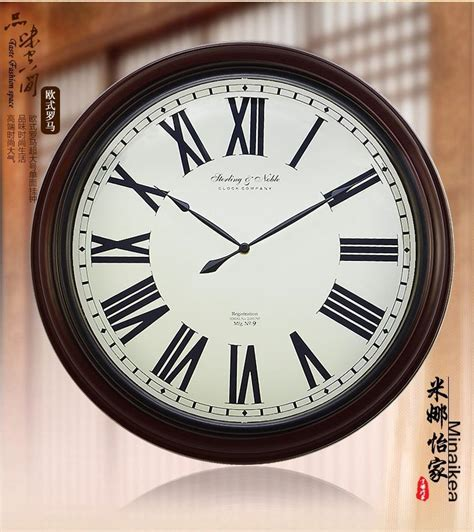 modern large wall clock fashion antique large wall clock mute modern large