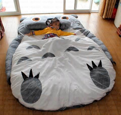 giant totoro bed my neighbor totoro bed totoro double bed cushion bed