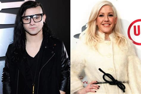 skrillex dating skrillex and ellie goulding are dating ny daily news