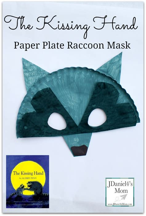 Paper Plate Craft Book - the paper plate raccoon mask for great