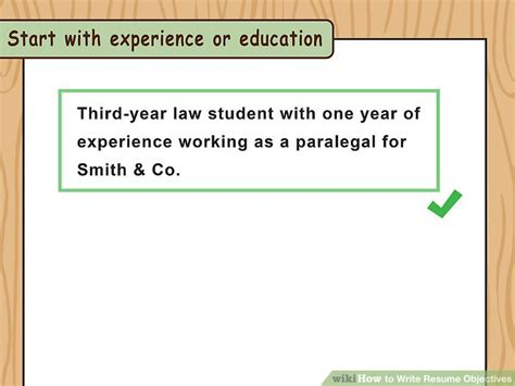 How To Write Resume Objective by How To Write Resume Objectives With Exles Wikihow