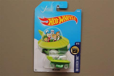 Hotwheels Hw Retro The Jetsons Capsul Car wheels 2017 hw screen time the jetsons capsule car see condition