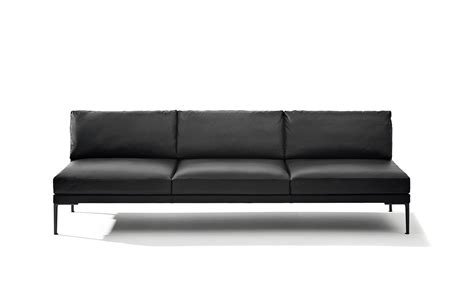 steeve three seat sofa without arms hivemodern