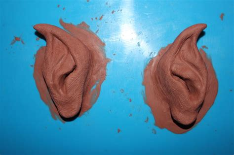 tutorial latex elf ears make your own devil or elf rubber latex ears