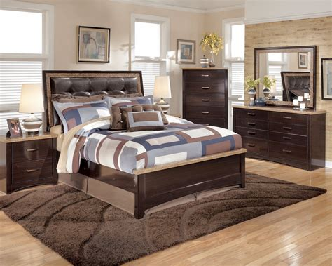 bedroom furniture ashleyb ashley urbane bedroom set