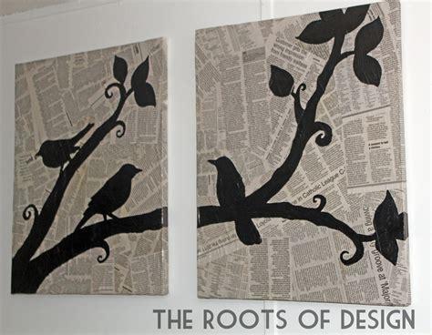 design art news the roots of design diy newspaper art