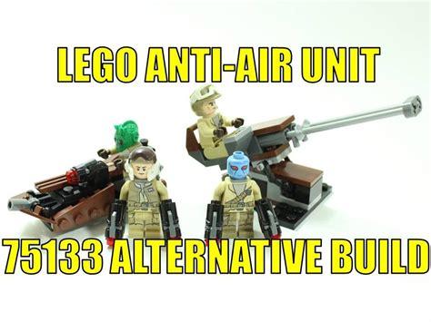 Lego Wars 75133 lego wars 75133 alternative build rebel anti air unit