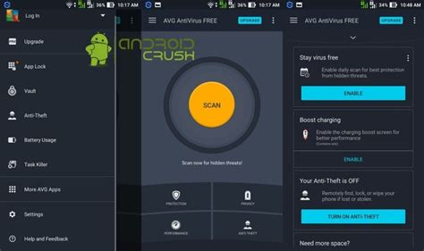 antivirus for android phones best antivirus security apps for android 2018 android crush