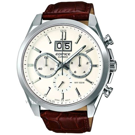 mens casio edifice chronograph  efb  aver
