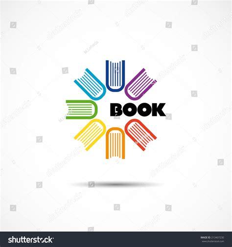 e book icon design stock vector image 49331229 vector logo seven colored books arranged 스톡 벡터 213407230