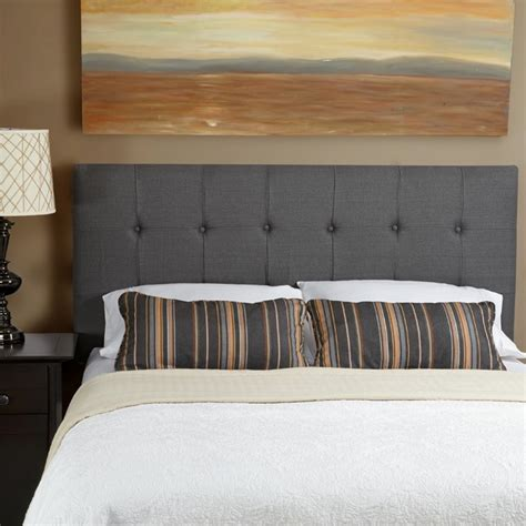 grey linen headboard humble haute sussex grey linen queen tufted upholstered