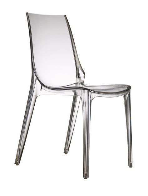 piedini per sedie sedia in policarbonato con piedini antiscivolo idfdesign