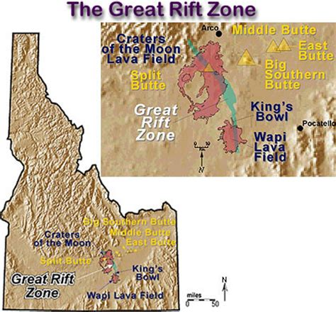 click here to view a detailed map of the great rift system.