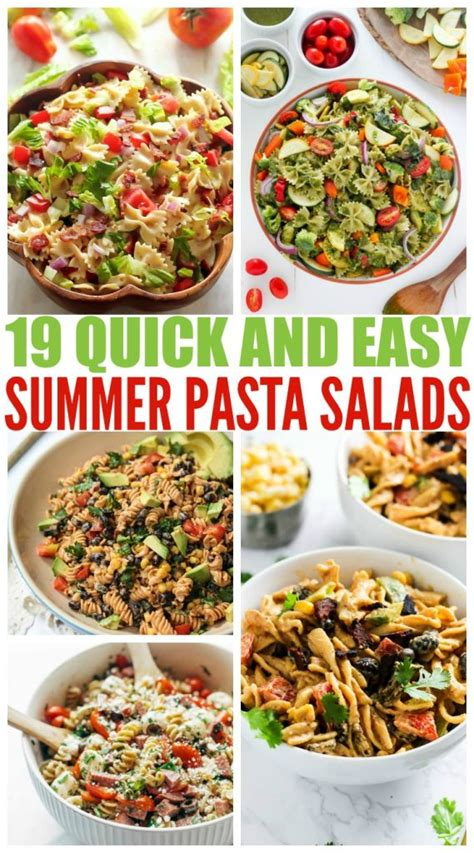 delicious summer pasta salad 19 delicious and easy pasta salads family fresh meals