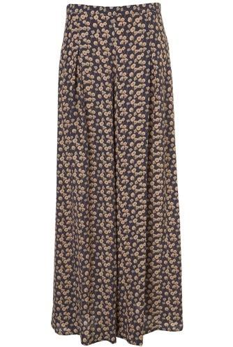 Marciano Bridget Jumpsuit It Or It by Topshop Blue Tulip Print Wide Leg Trousers 7 Outstanding