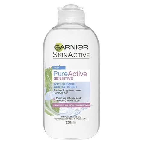 Toner Garnier Active garnier active sensitive anti blemish toner 200ml