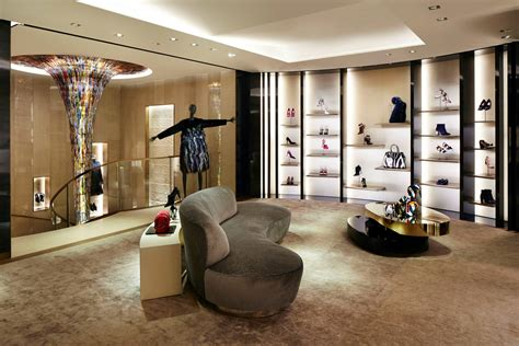 home design store paris new fendi flagship store opens at 51 avenue montaigne