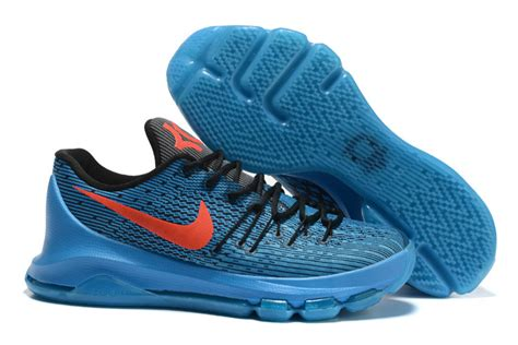 new kevin durant sneakers new nike kevin durant 8 blue black orange shoes nkd843