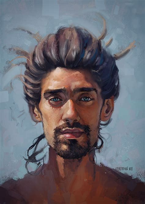 portrait painting paintable 50 breathtaking digital painting portraits for your inspiration
